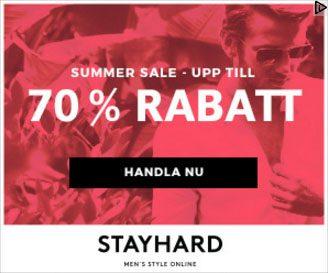Stayhards annons i displaynätverket
